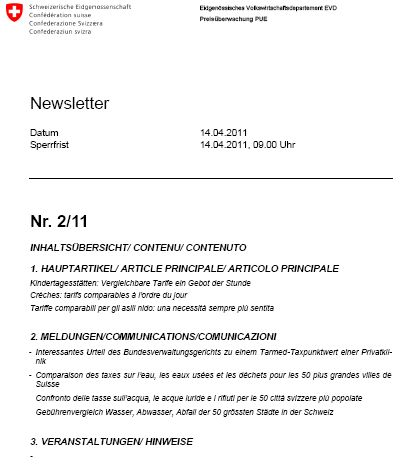 Titelblatt Newsletter 2 11