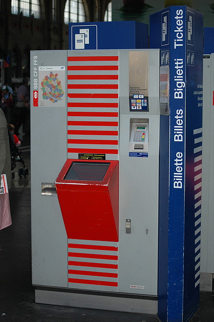 SBB Ticketautomat